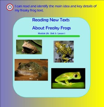 Expeditionary Learning Engage NY Module 2a Unit 3 Lesson 1