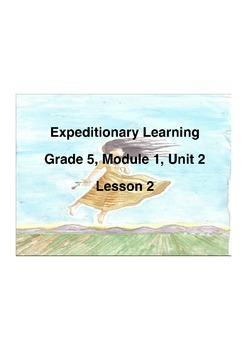 Expeditionary Learning Grade 5 Module 1 Unit 2 Lesson 2 Fl