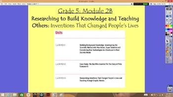 Expeditionary Learning Grade 5, Module 2B, Units 1-3 Flipcharts