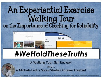 Experiential Exercise Walking Tour on Checking Source & In