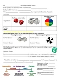 Experimental Probability: Guided Notes, Practice, and Appl