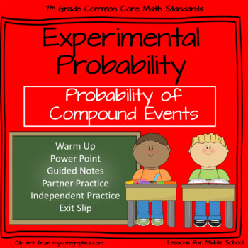 Experimental Probability of Compound Events - 7th Grade Pr