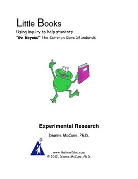 Experimental Research - Science Project-Literacy Response Journal