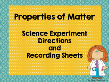 Experimenting with Matter