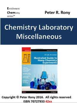 Chemistry Laboratory: Miscellaneous (Enrichment chemistry Series)