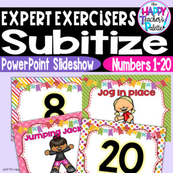 Expert Exercisers Numbers 1-20 ~PowerPoint Slideshow