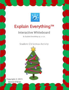 Explain Everything App: Student Christmas Activity