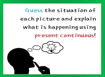 Explain Hidden Pictures(Present Continuous)
