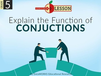 Explain the Function of Conjunctions