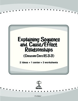 Explaining Sequence and Cause/Effect Relationships (Common