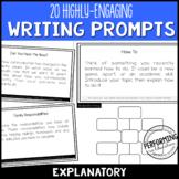 Explanatory/Informational Writing: 20 High-Interest Writin