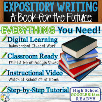 EXPOSITORY WRITING PROMPT - A Book for the Future - High School