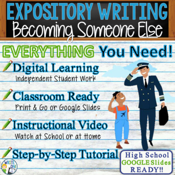EXPOSITORY WRITING PROMPT - Changing Places - High School