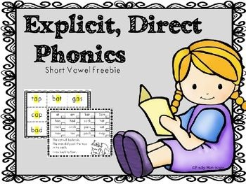 https://www.teacherspayteachers.com/Product/Explicit-Direct-Decoding-of-Short-Vowel-Words-1471504