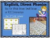 Explicit, Direct Phonics Decoding Sheets