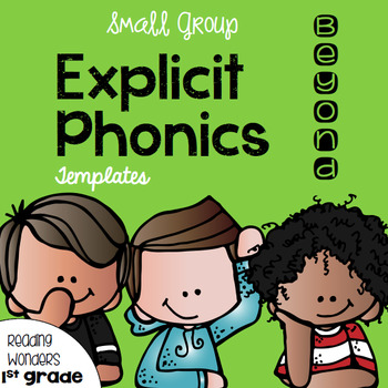 Explicit Vocabulary Templates for Reading Wonders Leveled
