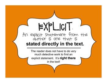 AURELIA'S TALE: Explicit vs. Implied Activity - Common Cor