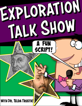 Exploration Talk Show Class Play Script with Graphic Organ