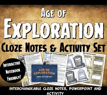 Exploration Cloze Notes, PowerPoint and Activity Set - Exp