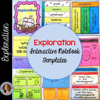 Exploration Interactive Notebook Templates