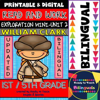 Exploration Mini-Unit 2 - William Clark - Read and Work -
