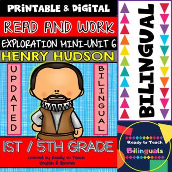 Exploration Mini-Unit 6 - Henry Hudson - Read and Work - B