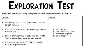 Exploration Test