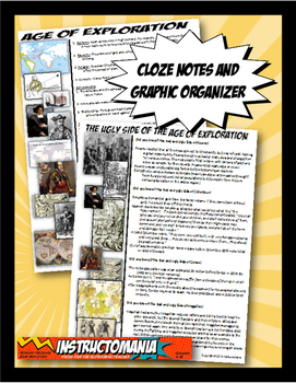 Exploration Two Page Cloze Notes & Graphic Organizer: Age