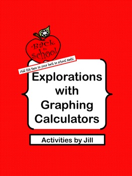 Explorations with Graphing Calculators