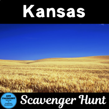 Explore Kansas Scavenger Hunt