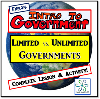 Worksheets Limited And Unlimited Government Worksheet explore limited vs unlimited governments by social studies stuff governments