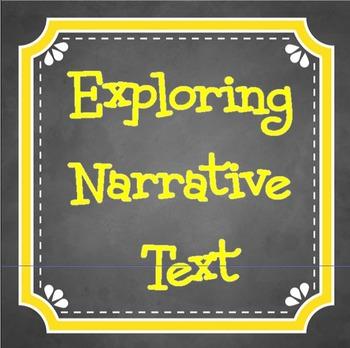 Explore NARRATIVE Text Structures
