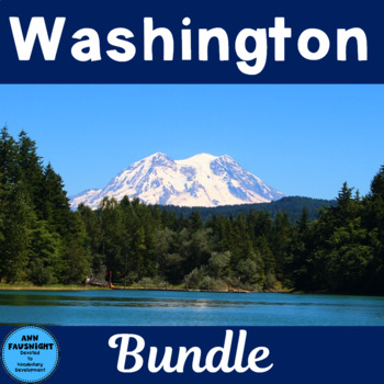 Explore Washington Activity Bundle
