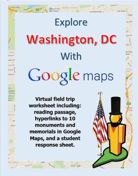 Explore Washington, DC with a Google Maps Virtual Field Trip