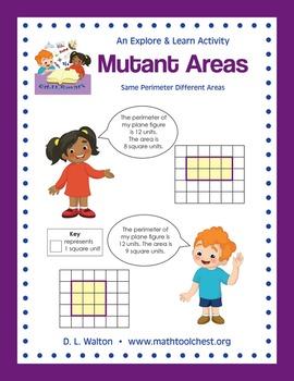 3rd Grade Measurment: Game: Mutant Areas