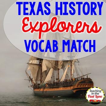 Explorer Vocabulary Match Up