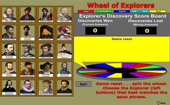 Explorer's Wheel of Discovery - Bill Burton