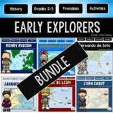 Explorers of the New World #1: Ponce de Leon, John Cabot,