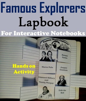 Famous World Explorers Unit: Daniel Boone, Marco Polo, Lew
