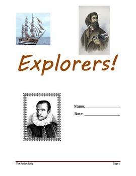 """Explorers"" 5 Paragraph Essay - Scaffoled Writing Program"