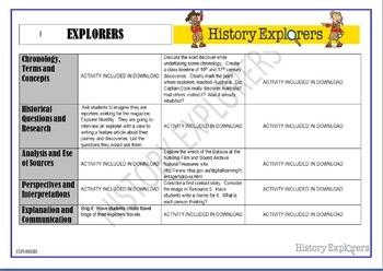 Explorers (Activity Matrix Resource Pack)