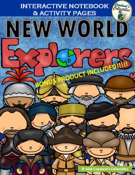 Explorers Interactive Notebook & Activity Pages BONUS PROD