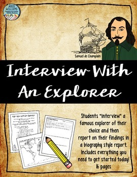 Explorers - Interview With a Famous Explorer
