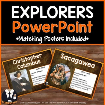 Explorers PowerPoint and Posters