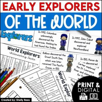 Christopher Columbus & Explorers of the World Interactive