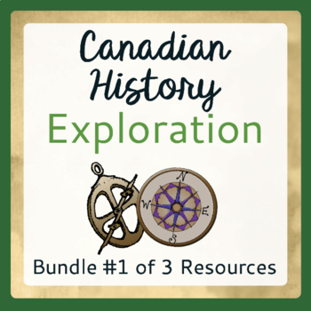 Exploration Canada - Bundle  #1 of 3 Resources