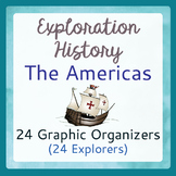 Explorers Americas 24 Graphic Organizers
