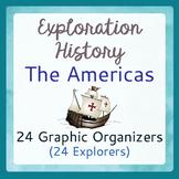 Explorers Exploration 24 Graphic Organizers