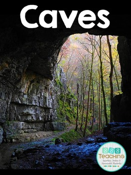Exploring Caves in reading, writing, science, and social studies