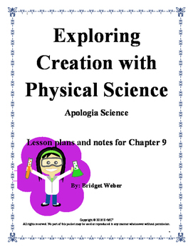 Apologia Exploring Creation with Physical Science Chapter